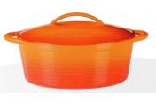 Pekáč Orange Shadow z litiny 33x25 cm