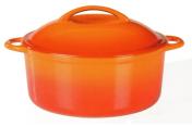 Hrnec Orange Shadow z litiny 24 cm